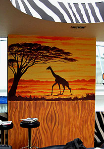 murals wall paintings london by mural artist childrens