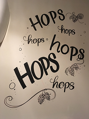 Hops Wall Design
