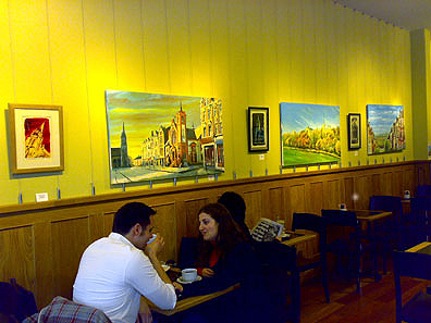 Chorak Cafe Paintings of Muswell Hill