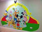 Disney Wall Painting. London