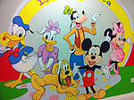 Walt Disney Wall Painting