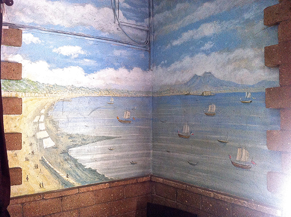 Bay of Naples Mural