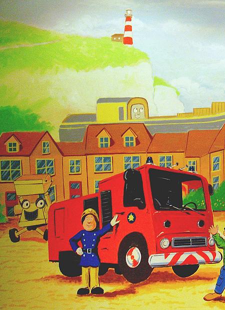 Fireman Sam Mural Part 49