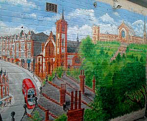 Muswell Hill Mural Painting