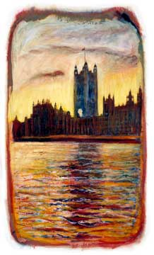 Houses of Parliament london print