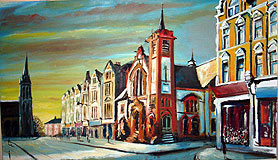 Painting of Muswell Hill Broadway