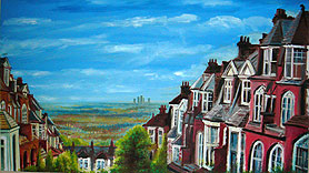 Painting of Muswell Hill
