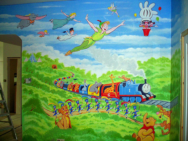 Childrens Murals London, Wall Paintings For Childrens Bedrooms And  Nurseries By London Mural Artist