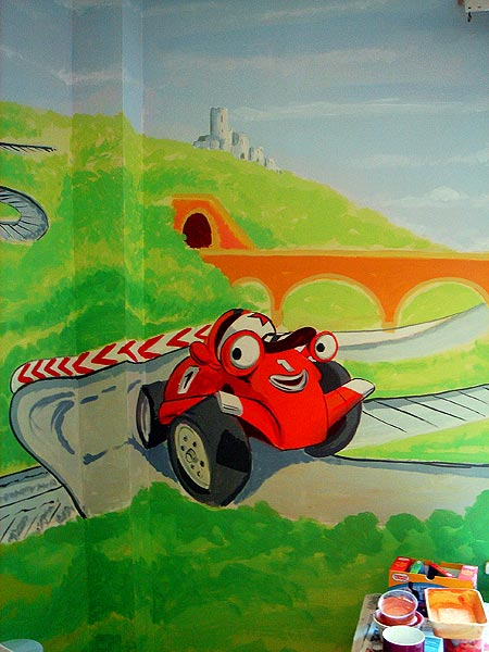Childrens Murals London Wall Paintings For Childrens Bedrooms And Nurseries By London Mural Artist