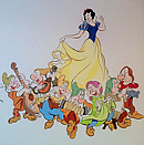 Snow White and the Seven Dwarfs Mural