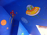 Space Mural Wall PAinting, Mill Hill London