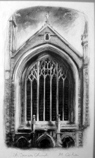 St.James Window Muswell Hill