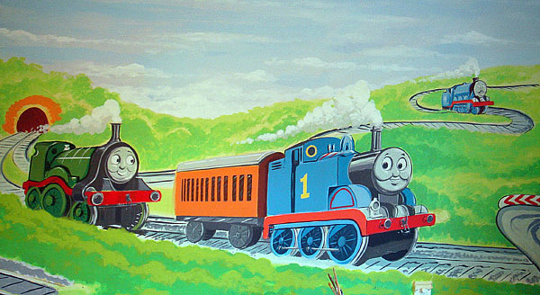 Great Thomas The Tank Engine Mural Part 25