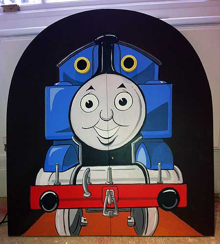 Thomas The Tank Engine Cupboard Doors Mural