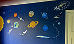 Space Mural for Children