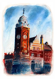 Crouch End Clock Tower 2